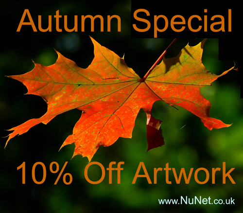 Autumn Artwork special offer